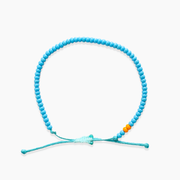 Single Strand Beaded Bracelet -Turquoise
