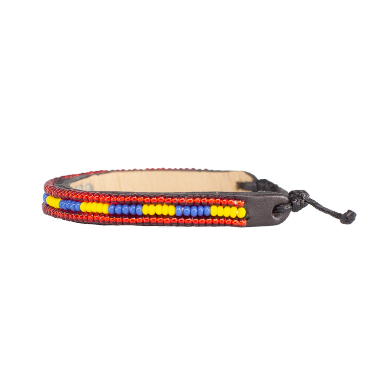 Yellow / Black Nija Bracelet
