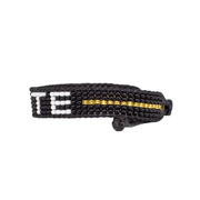 Black / White VOTE Woven Bracelet