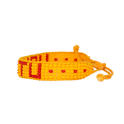 Orange / Red UBUNTU Woven Bracelet