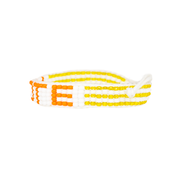 White / Orange VOTE Bracelet