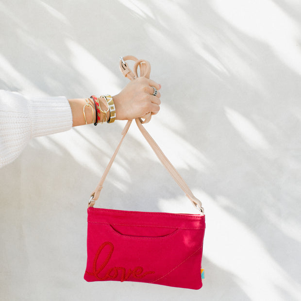 Crimson Love Crossbody