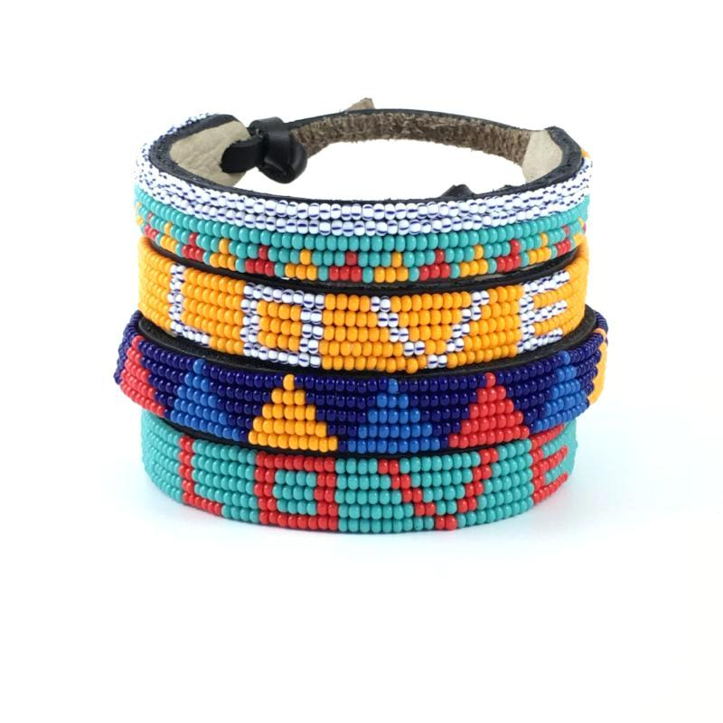 Piramidi Tribal Bracelet
