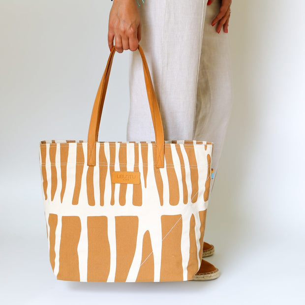 Go-To Tote - Brown Zebra