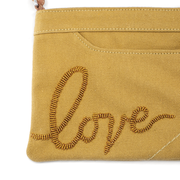 Camel Brown Love Crossbody