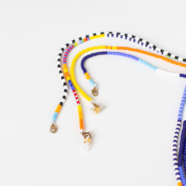 Beaded Sunglass Holder - Rainbow Multi