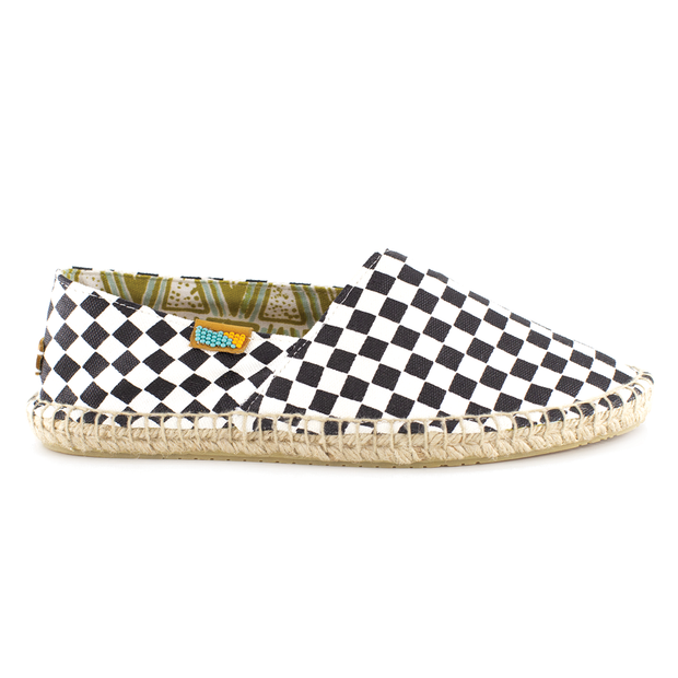 Black / White Checkered Afridrilles