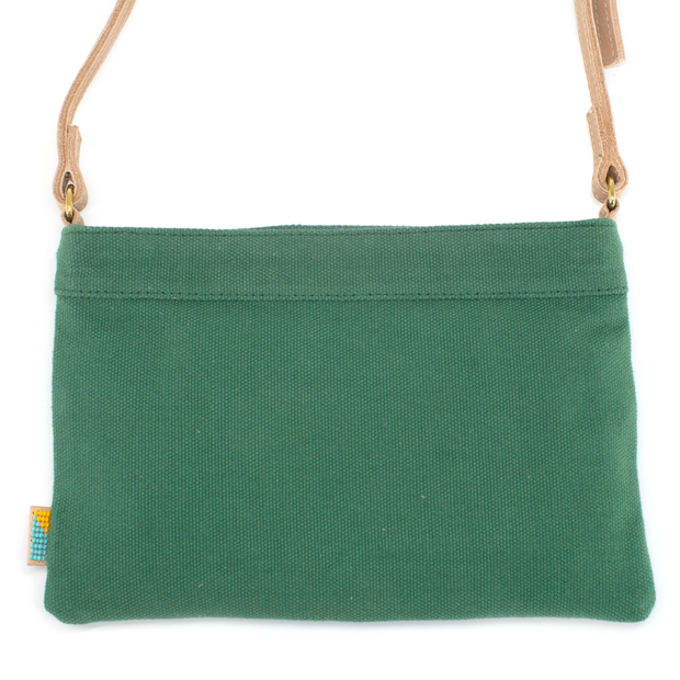 Safari Green  LOVE Crossbody