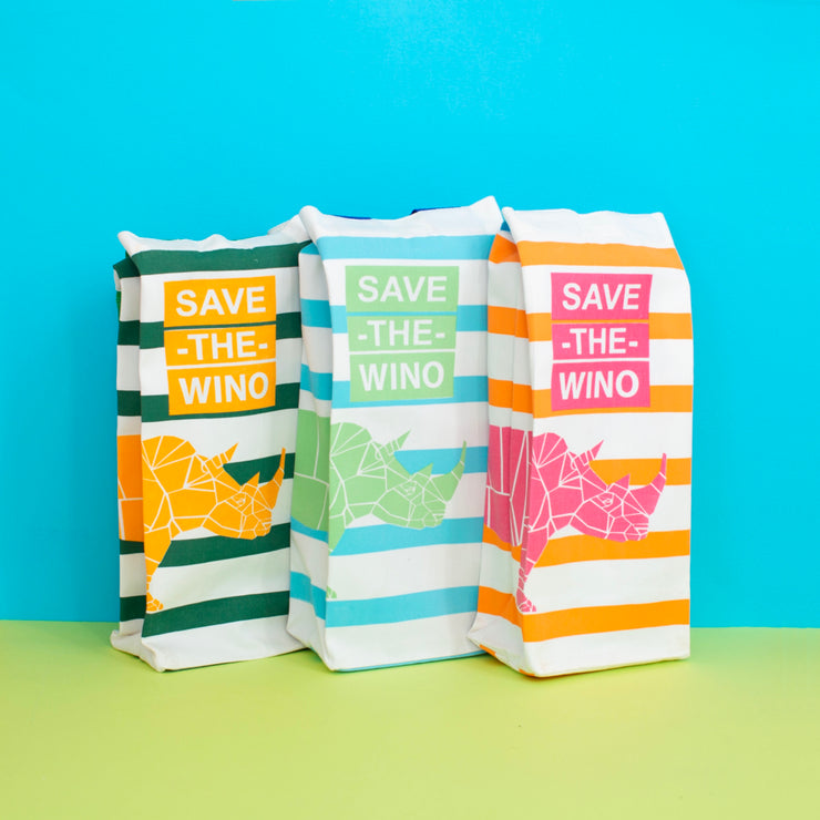 SAVE THE WINO Bag - Orange