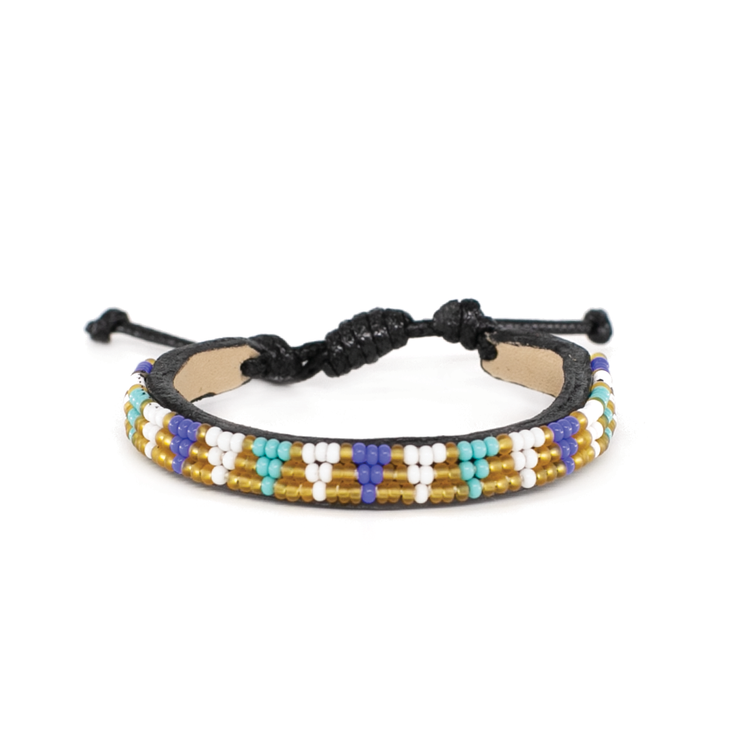 Gold Multi Tribal Bracelet
