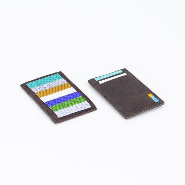 Striped Cape Town Card Wallet