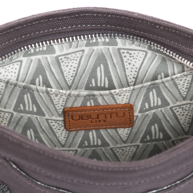 Granite Grey Love Crossbody