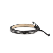 Black and Silver Micro Mrembo Bracelet