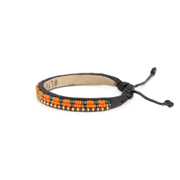Orange and Green Uzuri Bracelet