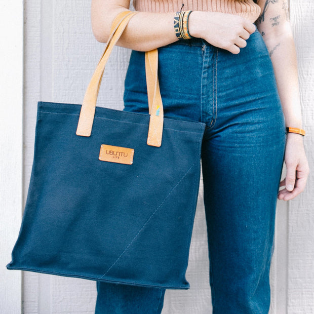 Midnight Blue Nairobi Tote