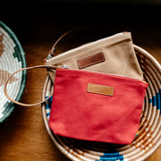 Hibiscus Red Kisumu Pouch