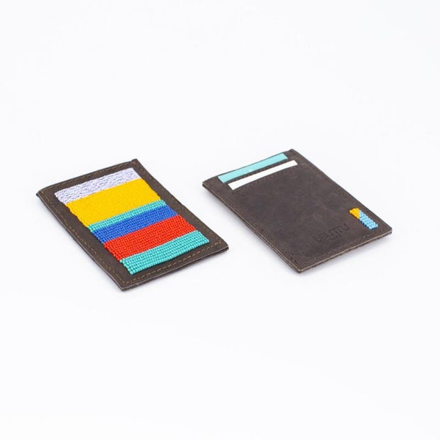 Classic Striped Wallet