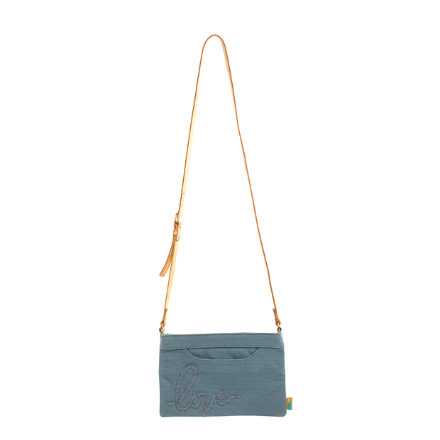 Pewter Love Crossbody