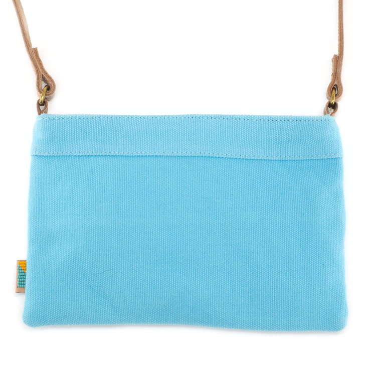 Light Turquoise LOVE Crossbody