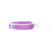 Purple VOTE Woven Bracelet