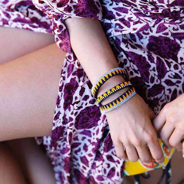 Sunflower Yellow Uzuri Bracelet