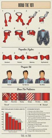 Move over, necktie. Here comes the BOWTIE