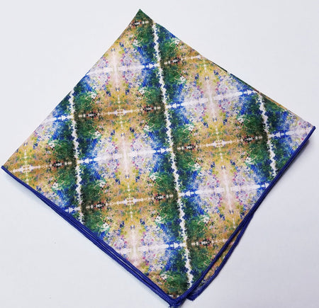 "Pocket Square, ""The Garden IV"" (limited production)"
