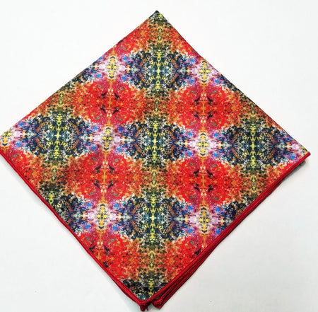 "Pocket Square, ""Fire and Ice"" (limited production)"