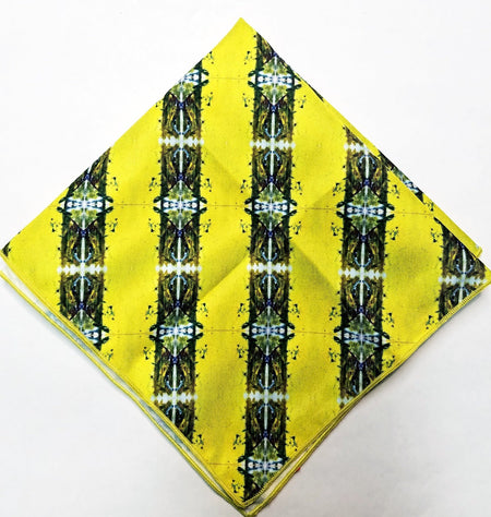 "Pocket Square, ""Bands of Brilliance"" (limited production)"