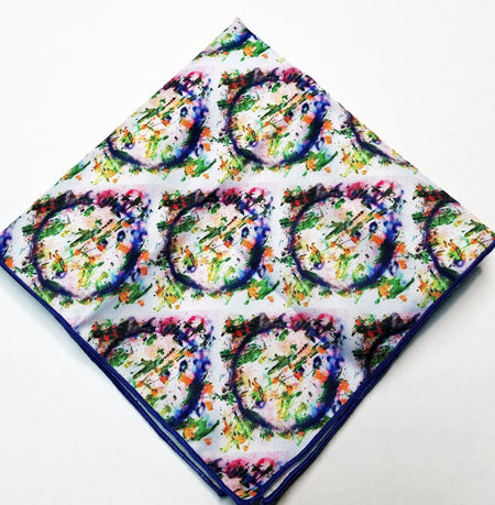 "Pocket Square, ""Portal Genius"" (limited production)"