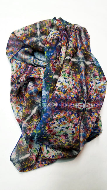 "Bamboo Scarf ""The Garden V"""