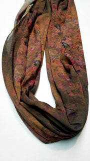 "Bamboo Scarf ""Man's Journey"""