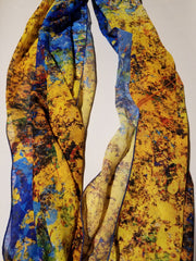 "Bamboo Scarf, ""Alchemy"" (limited production)"
