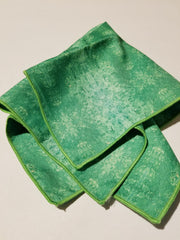 "Pocket Square: ""Color Field: Emerald"""