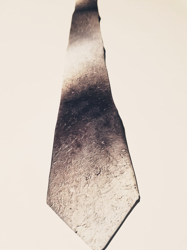 "Necktie, ""Color Field Silver"" (limited production)"