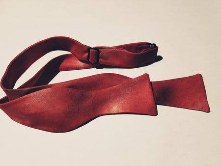 "Bow Tie, ""Color Field Crimson"" (limited production)"