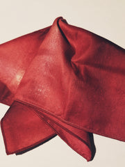 "Pocket Square: ""Color Field: Crimson"""
