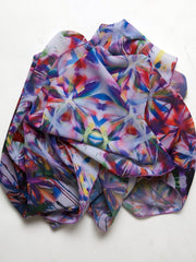 "Scarf, ""The Garden"" (limited production) - Dress Abstract"