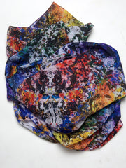 "Scarf, ""Between White and Black"" (limited production) - Dress Abstract"