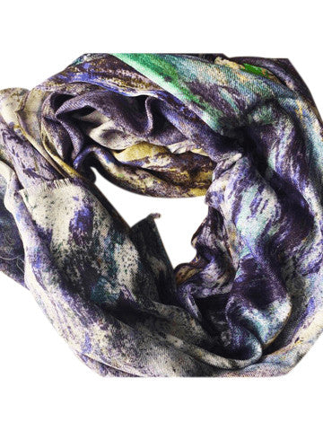"Poly Chiffon Scarf, ""The Jungle"" (limited production)"