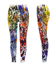 "Leggings, ""Between White and Black"" (limited production) - Dress Abstract - 3"