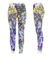 "Leggings, ""The Jungle"" (limited production) - Dress Abstract - 3"