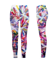 "Leggings, ""The Garden"" (limited production) - Dress Abstract - 3"