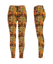 "Leggings, ""The Wall"" (limited production) - Dress Abstract - 3"