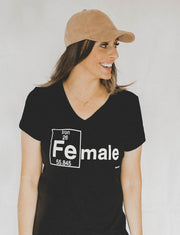ironmale shirt: female sizes