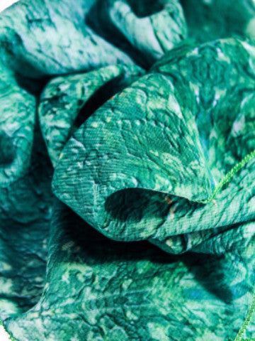 "Scarf, ""Color Field Emerald"" (limited production)"