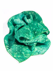 "Bamboo Scarf, ""Color Field Emerald"" (limited production)"