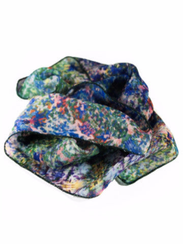 "Poly Chiffon Scarf, ""The Unresolved Chord"" (limited production)"
