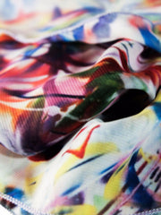 "Poly Chiffon Scarf, ""The Garden"" (limited production)"
