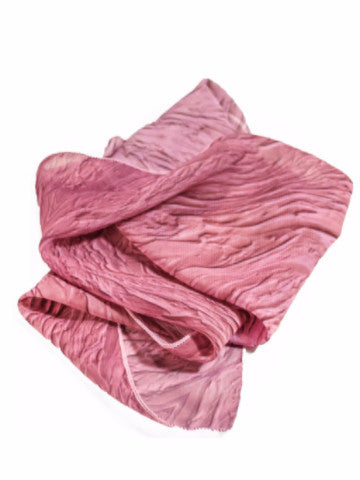"Bamboo Scarf, ""Color Field Dusted Rose"" (limited production)"